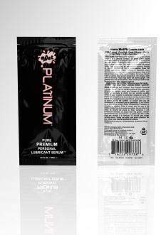 Wet Platinum Lubricant 0.13 fl oz Pouch Pack 10 ML