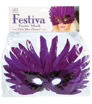 Festiva exotic mask, Purple