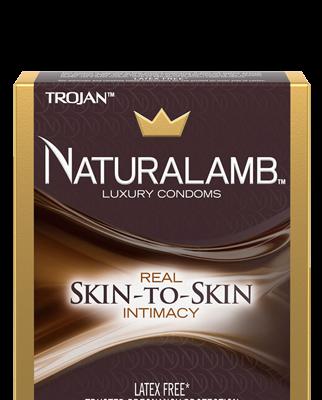 TROJAN Naturalamb Luxury Condoms