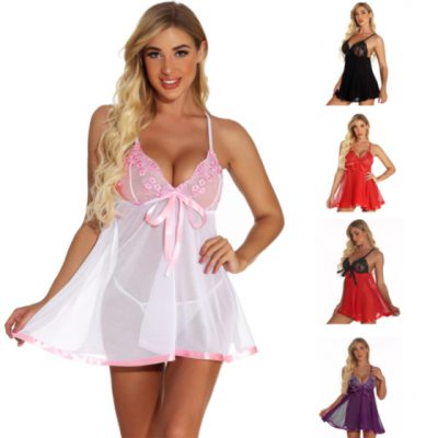 Plus size sequined Babydoll(with G-Strings)