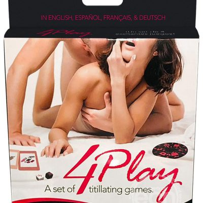 4Play – A Set of Four Titillating Foreplay Games