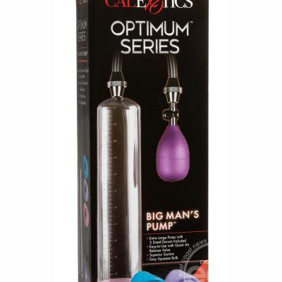 Optimum Series Big Man's Pump – Clear